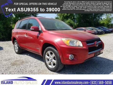 2009 Toyota RAV4 for sale at Island Auto Sales in East Patchogue NY