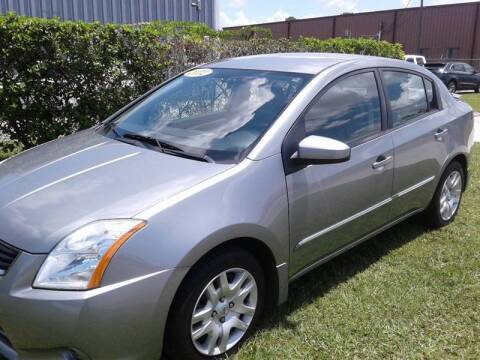 2012 Nissan Sentra for sale at Affordable Auto in Ocoee FL