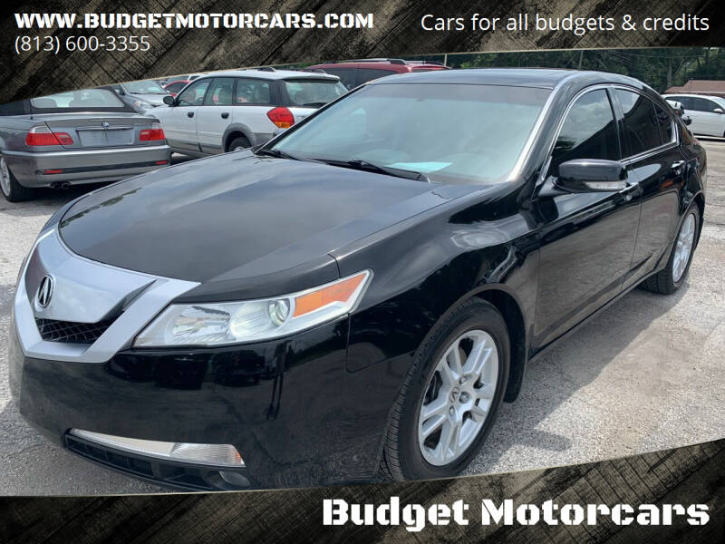 2009 Acura TL for sale at Budget Motorcars in Tampa FL