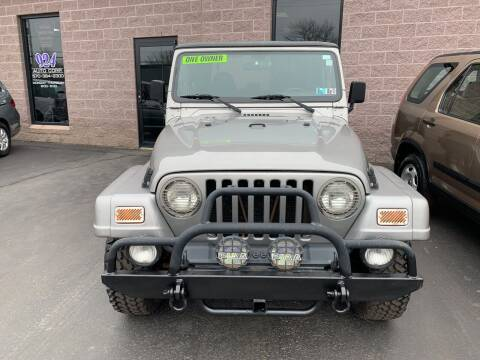 2001 Jeep Wrangler for sale at 924 Auto Corp in Sheppton PA