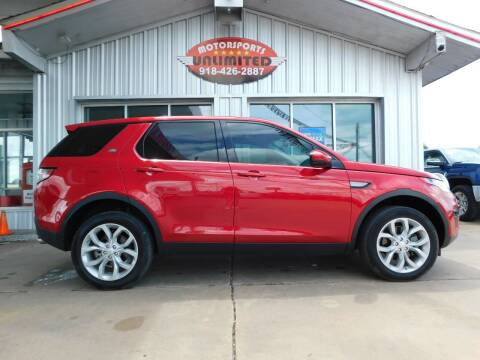 2019 Land Rover Discovery Sport for sale at Motorsports Unlimited in McAlester OK