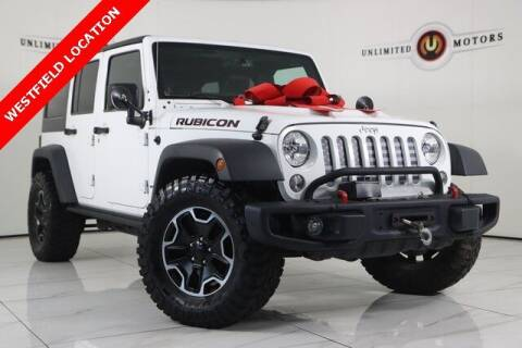 2014 Jeep Wrangler Unlimited for sale at INDY'S UNLIMITED MOTORS - UNLIMITED MOTORS in Westfield IN