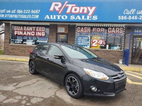 2013 Ford Focus for sale at R Tony Auto Sales in Clinton Township MI