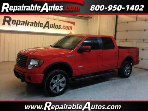 2011 Ford F-150 for sale at Ken's Auto in Strasburg ND