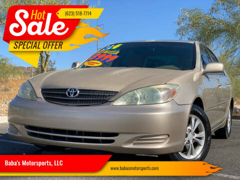 2004 Toyota Camry for sale at Baba's Motorsports, LLC in Phoenix AZ