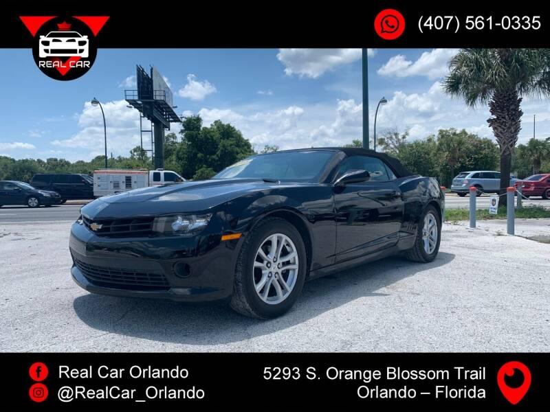 2015 Chevrolet Camaro for sale at Real Car Sales in Orlando FL