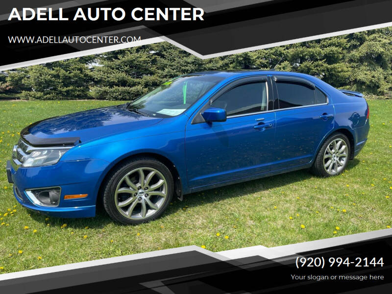 2012 Ford Fusion for sale at ADELL AUTO CENTER in Waldo WI