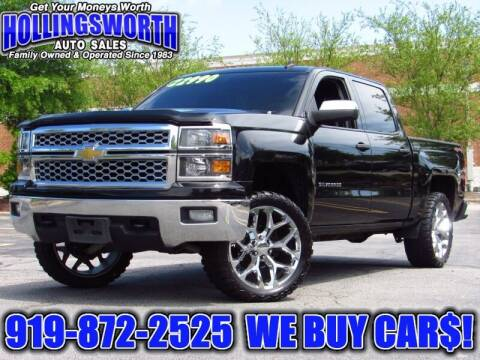 2014 Chevrolet Silverado 1500 for sale at Hollingsworth Auto Sales in Raleigh NC