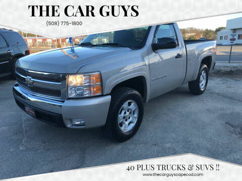 2007 Chevrolet Silverado 1500 for sale at The Car Guys in Hyannis MA