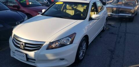 2012 Honda Accord for sale at Howe's Auto Sales in Lowell MA