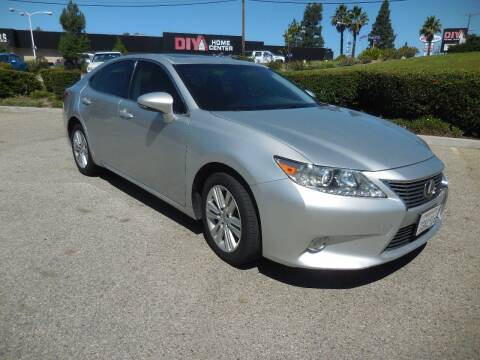 2014 Lexus ES 350 for sale at ARAX AUTO SALES in Tujunga CA
