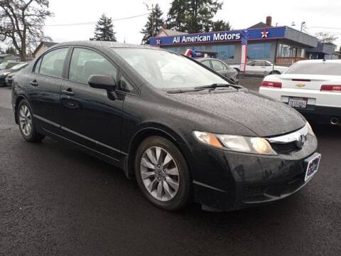 2011 Honda Civic for sale at All American Motors in Tacoma WA