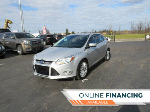 2012 Ford Focus for sale at A to Z Auto Financing in Waterford MI