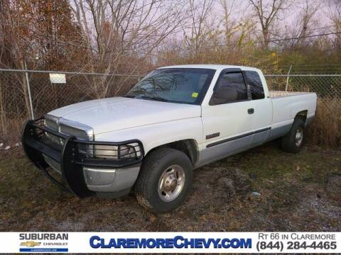 2001 Dodge Ram Pickup 2500 for sale at Suburban Chevrolet in Claremore OK