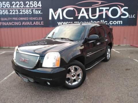 2007 GMC Yukon for sale at MC Autos LLC in Pharr TX