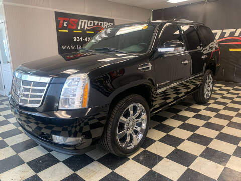 2008 Cadillac Escalade for sale at T & S Motors in Ardmore TN