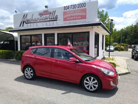 2013 Hyundai Accent for sale at Mechanicsville Auto Sales in Mechanicsville VA