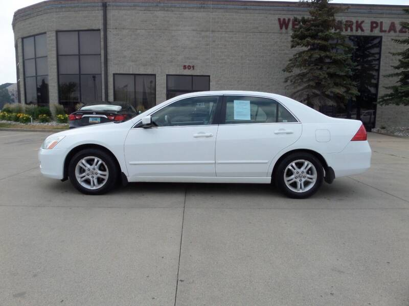 2007 Honda Accord for sale at Elite Motors in Fargo ND