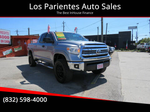 2016 Toyota Tundra for sale at Los Parientes Auto Sales in Houston TX