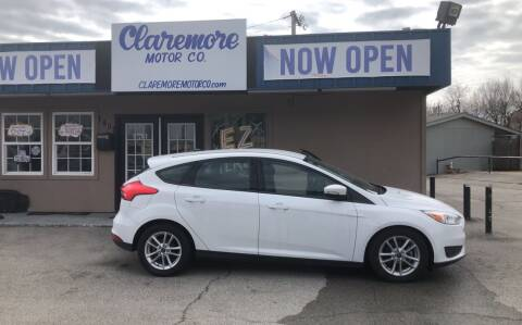 2016 Ford Focus for sale at Claremore Motor Company in Claremore OK