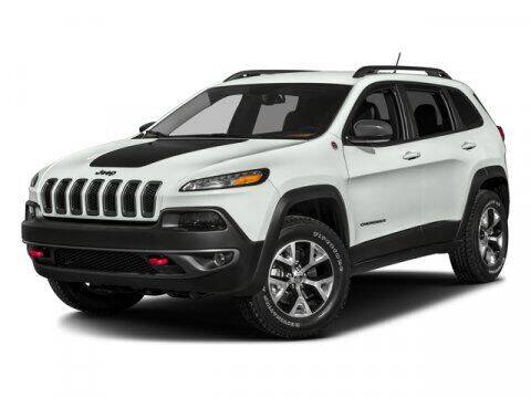 2017 Jeep Cherokee for sale at Suburban Chevrolet in Claremore OK