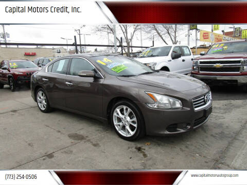 2014 Nissan Maxima for sale at Capital Motors Credit, Inc. in Chicago IL