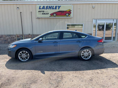 2019 Ford Fusion Hybrid for sale at Lashley Auto Sales in Mitchell NE