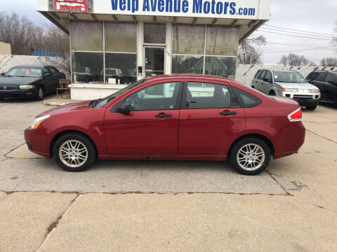 2010 Ford Focus for sale at Velp Avenue Motors LLC in Green Bay WI