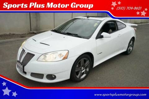 2009 Pontiac G6 for sale at Sports Plus Motor Group LLC in Sunnyvale CA