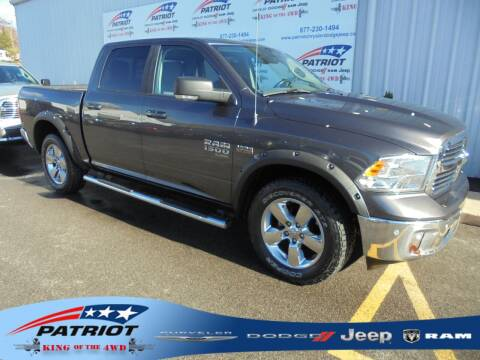2019 RAM Ram Pickup 1500 Classic for sale at PATRIOT CHRYSLER DODGE JEEP RAM in Oakland MD