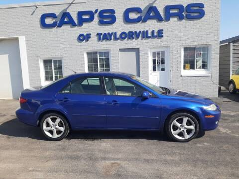 2005 Mazda MAZDA6 for sale at Caps Cars Of Taylorville in Taylorville IL