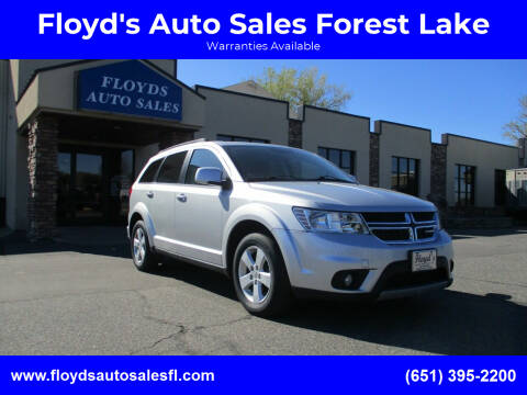 2012 Dodge Journey for sale at Floyd's Auto Sales Forest Lake in Forest Lake MN