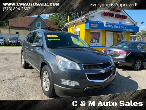 2009 Chevrolet Traverse for sale at C & M Auto Sales in Detroit MI