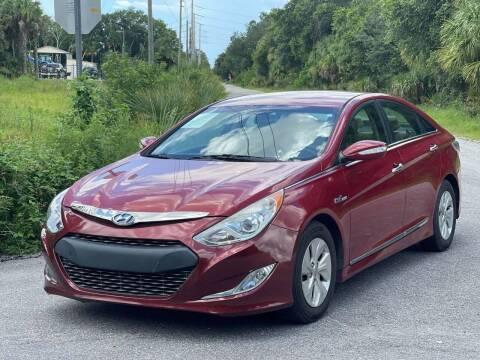 2013 Hyundai Sonata Hybrid for sale at GENESIS AUTO SALES in Port Charlotte FL