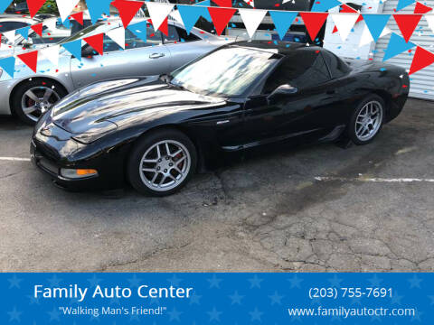 2001 Chevrolet Corvette for sale at Family Auto Center in Waterbury CT