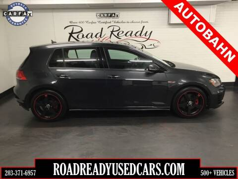 2015 Volkswagen Golf GTI for sale at Road Ready Used Cars in Ansonia CT