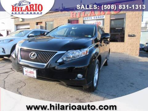 2010 Lexus RX 350 for sale at Hilario's Auto Sales in Worcester MA