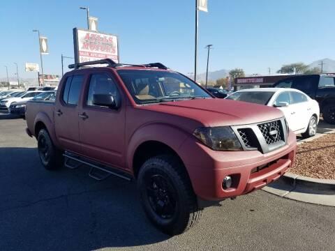 2012 Nissan Frontier for sale at ATLAS MOTORS INC in Salt Lake City UT