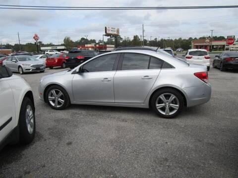 2013 Chevrolet Cruze for sale at DERIK HARE in Milton FL