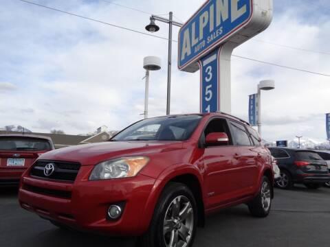 2010 Toyota RAV4 for sale at Alpine Auto Sales in Salt Lake City UT