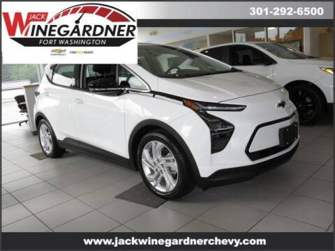 2022 Chevrolet Bolt EV for sale at Winegardner Auto Sales in Prince Frederick MD