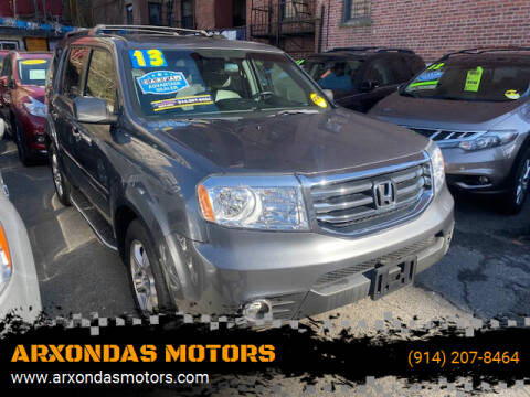 2013 Honda Pilot for sale at ARXONDAS MOTORS in Yonkers NY