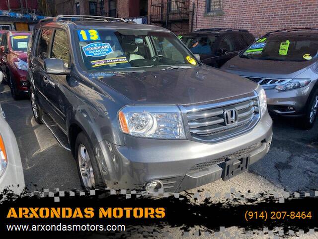 2013 Honda Pilot for sale at ARXONDAS MOTORS in Yonkers NY