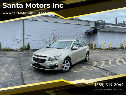 2016 Chevrolet Cruze Limited for sale at Santa Motors Inc in Rochester NY