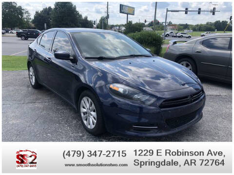 2014 Dodge Dart for sale at Smooth Solutions 2 LLC in Springdale AR