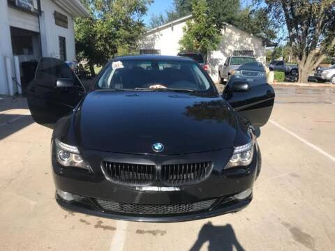 2008 BMW 6 Series for sale at DFW AUTO FINANCING LLC in Dallas TX
