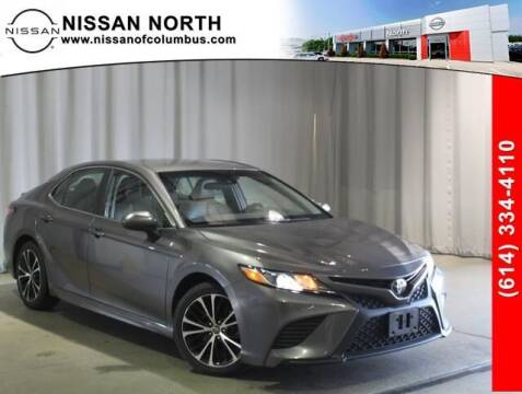 2018 Toyota Camry for sale at Auto Center of Columbus in Columbus OH