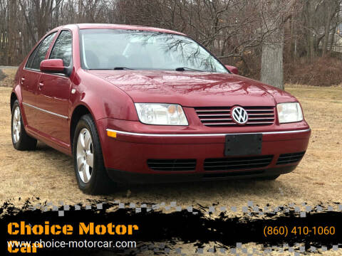 2005 Volkswagen Jetta for sale at Choice Motor Car in Plainville CT
