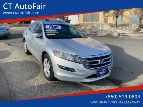 2012 Honda Crosstour for sale at CT AutoFair in West Hartford CT