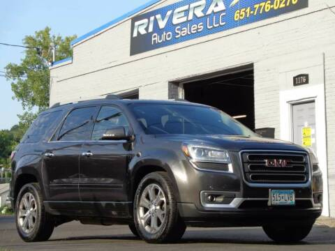 2013 GMC Acadia for sale at Rivera Auto Sales LLC in Saint Paul MN